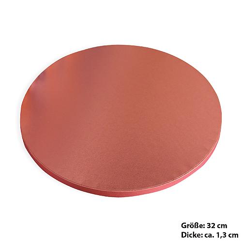 Tortenplatte / Cake Board Rund Rosa 32 cm