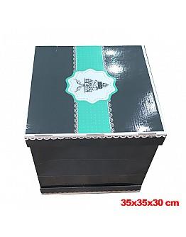 Große Tortenkarton / Tortenbox 35x35x30 cm 10 stück