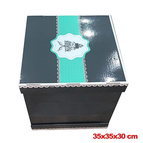 Große Tortenkarton / Tortenbox 35x35x30 cm 1 stk.