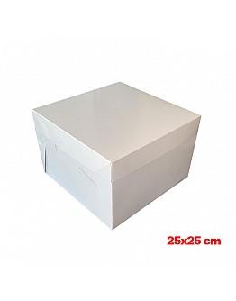 Tortenkarton / Tortenbox 25x25x20 cm 10 stk.