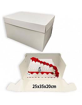 Tortenkarton / Tortenbox 25x35x20 cm 10 stk.