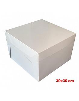 Tortenkarton / Tortenbox 30x30x20 cm 10 stk.