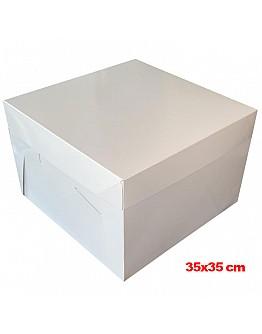 Tortenkarton / Tortenbox 35x35x20 cm 10 stk.