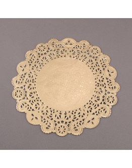 Torten Spitzenpapier Gold 29 cm