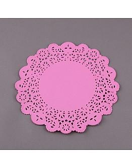 Torten Spitzenpapier Rosa 21 cm