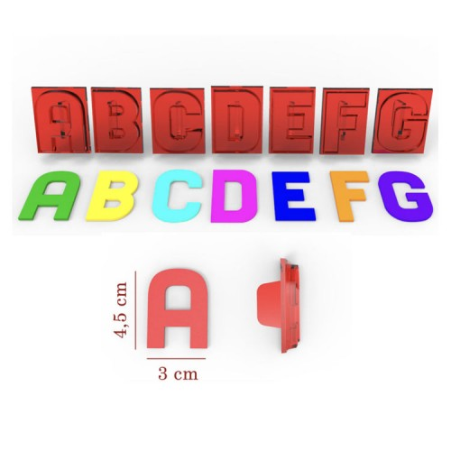 Groß Buchstaben Klassik A-z