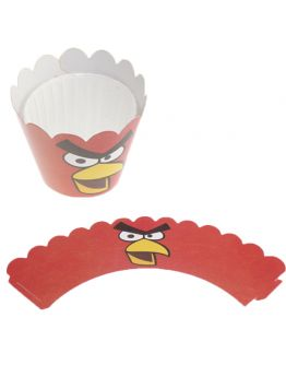 Muffin Hüllen cupcake Wrapper Angry Birds