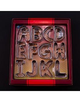 A-z  Set  Buchstaben Ausstecher
