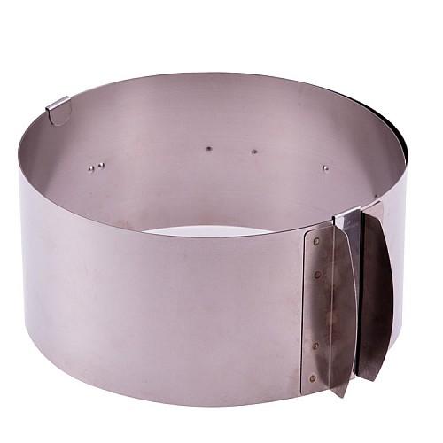 Backform / Tortenring verstellbar  8,5 cm Hoch