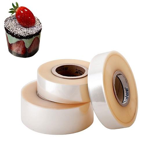 500m Acetatfolie - Stück Torten / Tortenrandfolie 40mm