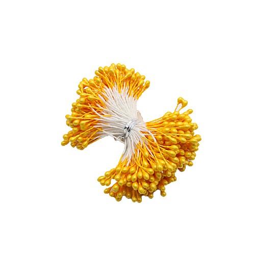 Gelb Blütenpollen - Stamen 50 stück