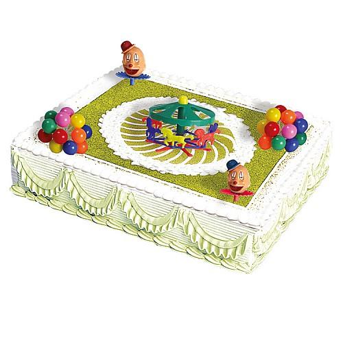 Karussell Torten Deko Set