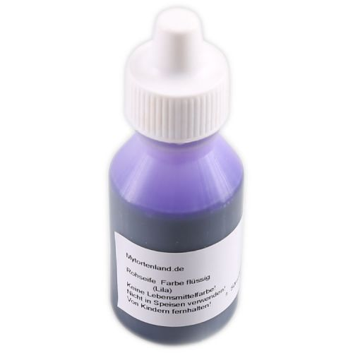 Lila Flüssigfarbe für Seife 50 ml