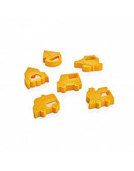 3D Kekse Fondant Ausstechformen 6'er Set