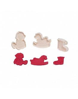 Baby &  Spielzeug 3 Ausstechformen 3'er Set