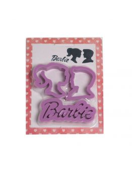 Mann & Frau Barbie Schrift Keks Plastik Ausstechform
