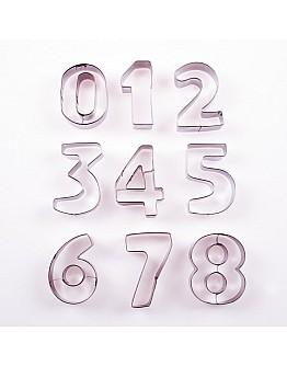 Zahlen Ausstecher Set 0-9