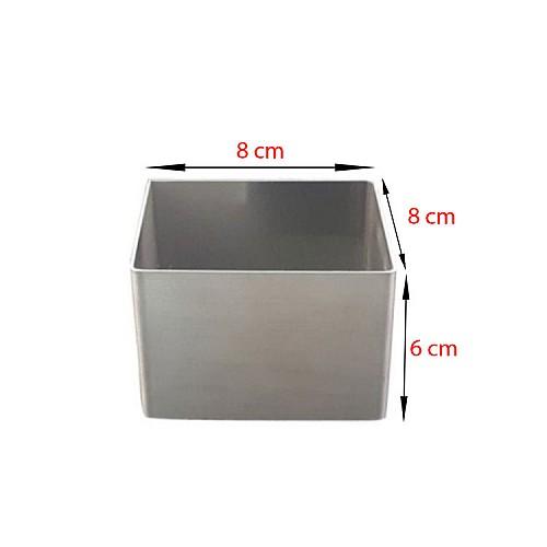 Mini Quadratische Würfel Backform 8 x 8 cm
