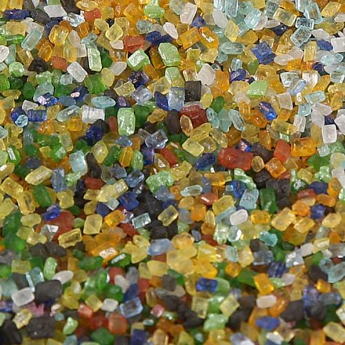Dragierte Zuckerkristalle  Bunt 1-4 mm 50g