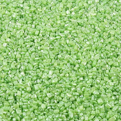 Dragierte Zuckerkristalle  Grün 1-4 mm 50g