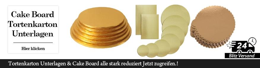 Tortenkartons & Tortenunterlagen