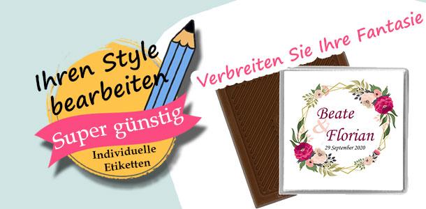 Etiketten & Sticker Selbst gestalten